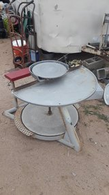 Potters wheel in Yucca Valley, California