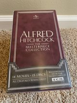 NEW! The Definitive Hitchcock Collection 14 Movies/15 Discs/36 pg Booklet. 14hours BONUS MATERIA... in Naperville, Illinois