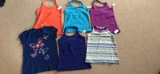 Girls Summer Clothing All NEW with Tags Size 10/12 in Glendale Heights, Illinois