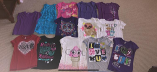 Girls summer tops and sundress size 10/12 in Glendale Heights, Illinois