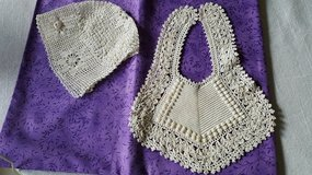 Baby Bonnet & Bib of Lace in Naperville, Illinois