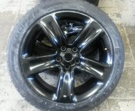 20 Inch Replica 154SB Jeep Satin Black Wheel Rims and tires in Stuttgart, GE