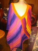Adult crocheted poncho in Fort Leonard Wood, Missouri