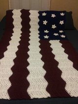 American Flag Afghan in Fort Leonard Wood, Missouri