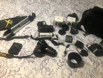 Nikon D3200 DSLR Camera with 2 Lens + Extras in 29 Palms, California