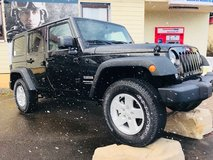 *7yr warranty* New 2018 Certified Jeep Wrangler 4WD/4DR $8,327 OFF! in Spangdahlem, Germany