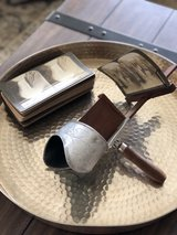 Antique 1901 Underwood Stereoscope Viewer with 37 Cards in Clarksville, Tennessee