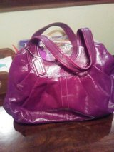 Purple Coach Bag in Bolingbrook, Illinois