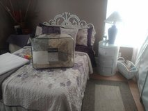 White Wicker bedroom set for sale!! in Clarksville, Tennessee