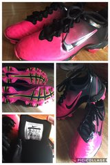 Nike Cleats Youth Girls size 13 excellent condition in Fort Campbell, Kentucky