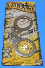 (TG5) Imperial Legends of the Wild West Metal Handcuffs (New) in Spring, Texas