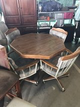 Dinette set with caster wheels nice in 29 Palms, California