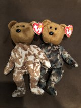 Hero British and US Beanie Babies in Tomball, Texas