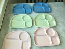 Pottery Barn Kids Melamine Divided Plates in Naperville, Illinois