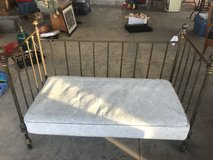 Antique Brass baby bed/daybed in Warner Robins, Georgia