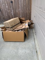 Free boxes in Kingwood, Texas