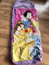Child's Disney Princess Sleeping Bag Ready Bed in Lakenheath, UK