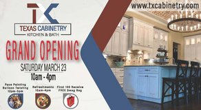 Texas Cabinetry Kitchen & Bath Grand Opening!!! in Kingwood, Texas