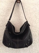 "Genuine Leather by ""Tignanello"" large shoulder purse in black in Yucca Valley, California"