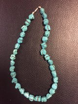 Thailand real turquoise necklace in Okinawa, Japan