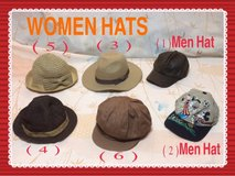 **VARIETY HATS AND FASHION STYLES** in Okinawa, Japan
