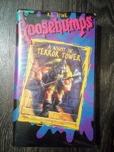 VHS - Goosebumps : A Night in Fear Tower in Byron, Georgia