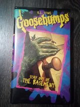 VHS - Goosebumps : Stay out of ty the Basement in Byron, Georgia