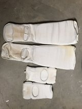 hand and shin pads in Fort Knox, Kentucky