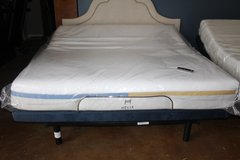 King adjustable frame- Helix dual Comfort mattress (included) in Kingwood, Texas