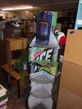 Mountian Dew Ice Five Shelf Swivel Stand in Fort Riley, Kansas