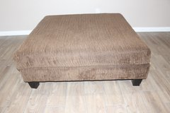 Large corduroy Ottoman in Kingwood, Texas