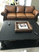 Walter E Smith leather couch in Joliet, Illinois
