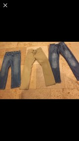 Boys Jeans & Pants sz10 Slim Lot Of 3  Levi's  Urban adjustable waist in Naperville, Illinois
