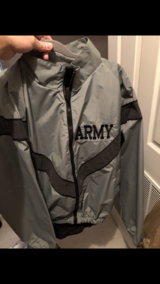 Military PT jacket and pant in Fort Campbell, Kentucky