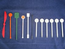 Swizzle Sticks VINTAGE Airlines TWA, United, Delta in Plainfield, Illinois