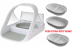 SureFeed Microchip Pet Feeder with EXTRA SPLIT BOWL in Naperville, Illinois