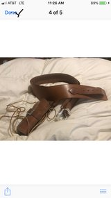 Cowboy holsters and belt in Alamogordo, New Mexico