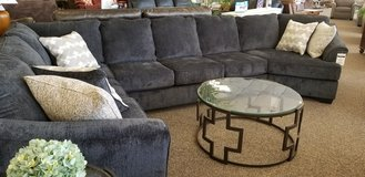 4pc sectional in slate. in Cherry Point, North Carolina