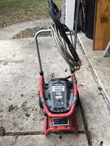 Husky pressure washer in Spring, Texas