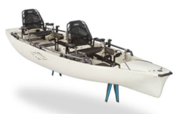 Hobie Kayak, 2016 Mirage Pro Angler 17T and Trailex Trailer in Camp Lejeune, North Carolina