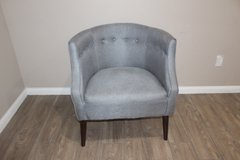 Modern Accent chair (gray color) in Houston, Texas