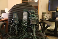 Lot of 3 Outdoor Xmas Electrical outlets in Westmont, Illinois
