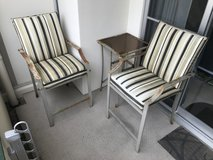 Outdoor Patio Seating Set - 2 Chairs and 1 Table in Okinawa, Japan