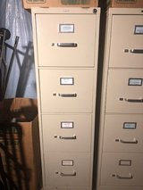 HON 4-high file cabinet with lock in Kingwood, Texas