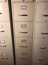 Sturdy, Like-new 4-high File Cabinet in Houston, Texas