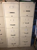 Sturdy, like-new, file cabinet (4-high) in Houston, Texas