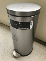 Simplehuman 30L Round Step Can Trashcan in Okinawa, Japan