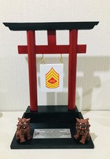 Military Award Plaques in Okinawa, Japan