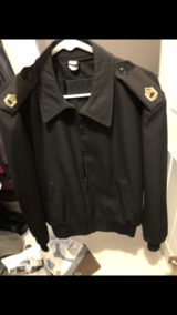 Enliste male Black Jacket for ASU in Fort Campbell, Kentucky