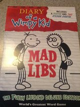 Diary of a Wimpy Kid Mad Libs in Bolingbrook, Illinois